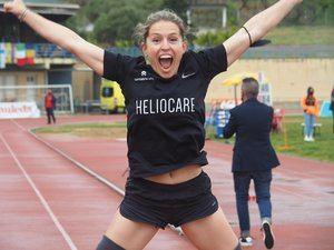 Sara Andrés, atleta paralímpica de Las Rozas, bate el récord del mundo de 200 metros lisos clase T62