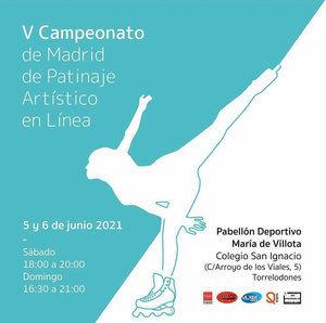 Torrelodones acoge este fin de semana el V Campeonato de Madrid de Patinaje Artístico en Línea
