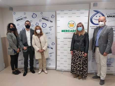 Un convenio permitirá a la Fundación APASCOVI recibir diariamente productos de primera necesidad