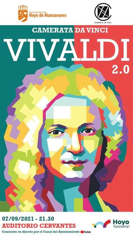 Homenaje a víctimas del COVID19 y personal sanitario con el concierto 'Vivaldi 2.0' de la Camerata Da Vinci
