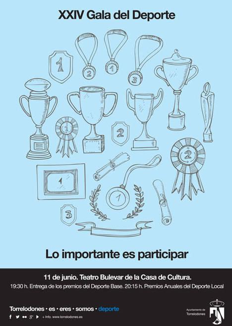 XXIV edición de la Gala del Deporte Local en Torrelodones