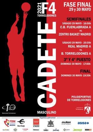La Final Four de la categoría Cadete Especial masculino de baloncesto se juega en Torrelodones