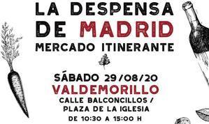 La 'Despensa de Madrid' visita por primera vez Valdemorillo