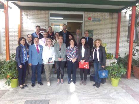 Reunión de directores con la viceconsejera de Organización Educativa