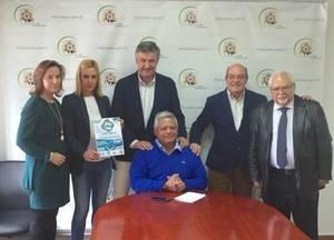 """'Rueda Madrid"""", una mañana de deporte solidario en El Escorial"""