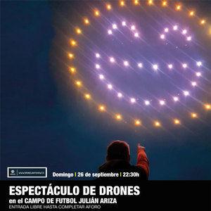 Torrelodones despide su programación de verano con un espectáculo de drones