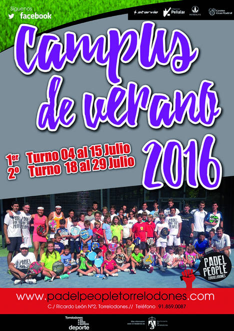 Campus de Verano del Club Padel People