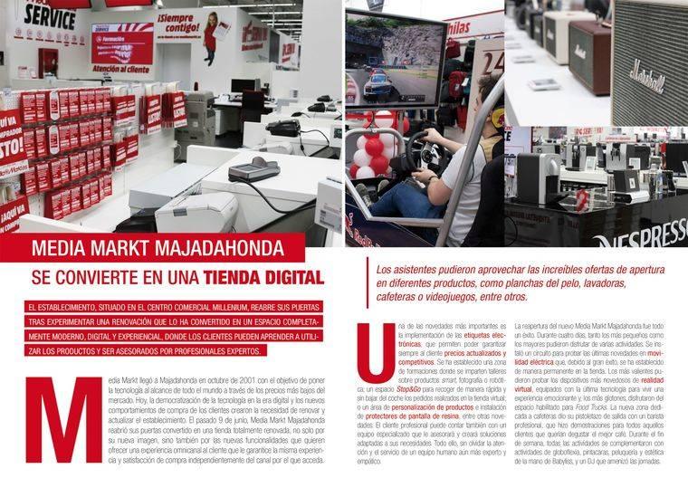 Media Markt Majadahonda se convierte en una tienda digital