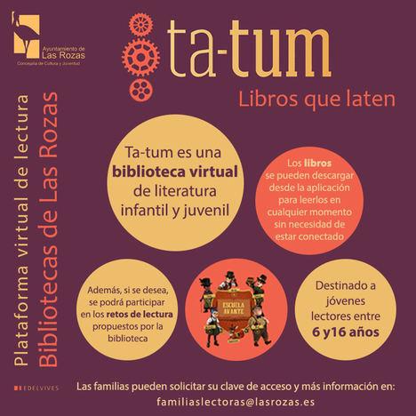 Las bibliotecas de Las Rozas lanzan una nueva plataforma virtual para fomentar la lectura entre los jóvenes