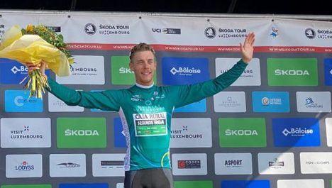 El ciclista de Galapagar Sergio Martín queda segundo en el premio de la Montaña del Tour de Luxemburgo