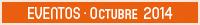 Eventos · Octubre 2014